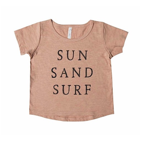 Rylee and Cru Rylee + Cru Sun Sand Surf Basic Tee