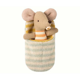 Maileg Maileg Mouse - Baby in Sleeping Bag