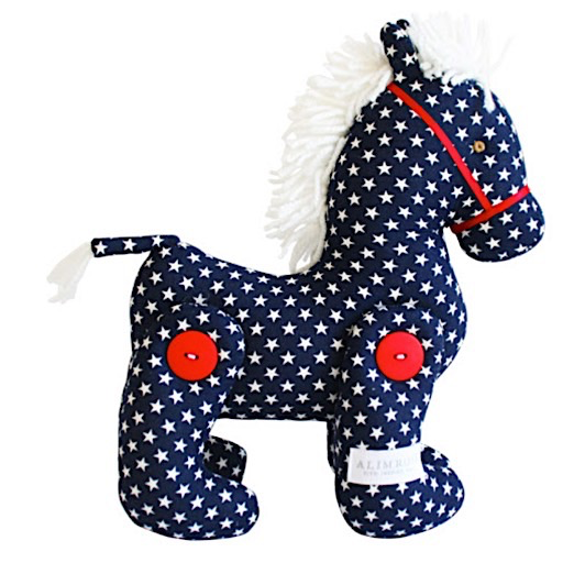 Alimrose Jointed Pony - Navy Star