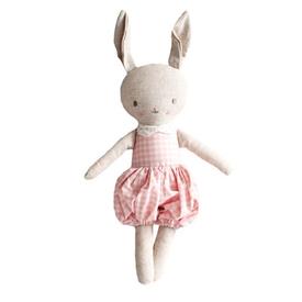 Alimrose Alimrose Rosie Romper Bunny - Pink Cream
