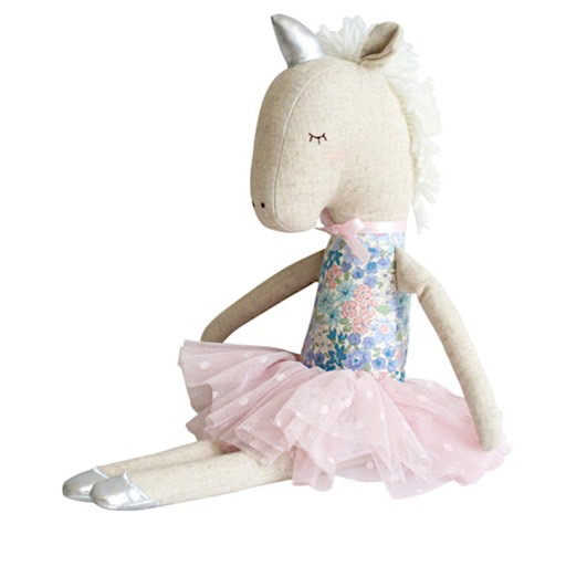 Alimrose Alimrose Yvette Unicorn Doll - Liberty Blue