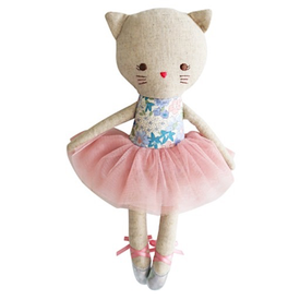 Alimrose Alimrose Odette Kitty Ballerina - Liberty Blue