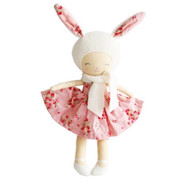 Alimrose Alimrose Belle Bunny Girl - Pink Floral