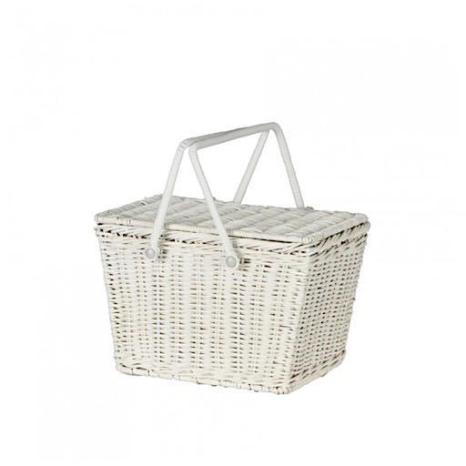 Olli Ella Olli Ella Piki Basket - White