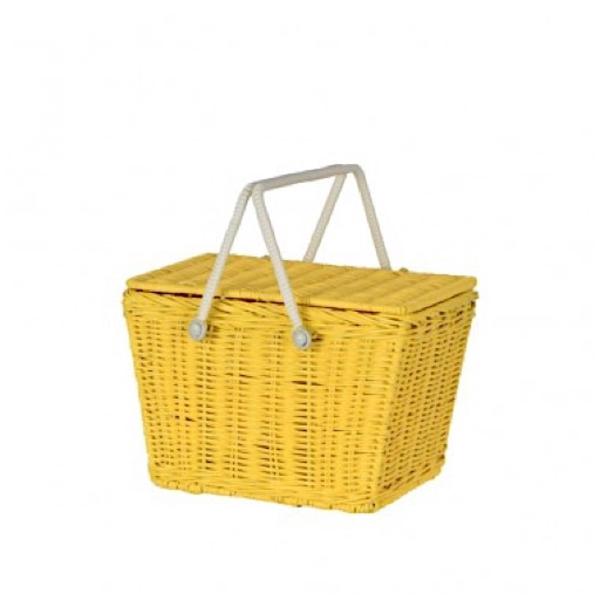 Olli Ella Olli Ella Piki Basket - Yellow