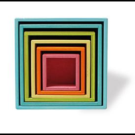 Grimms Grimms Large Set of 6 Boxes - Pastel