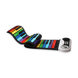 MukikiM Roll Up Piano - Rainbow