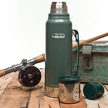 Stanley Thermos 1.1 Quart Classic Vacuum Bottle - Green