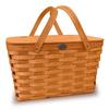 Peterboro Traditional Picnic Basket - Honey