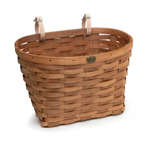 Peterboro Basket Co. Peterboro Bike Baskets Original Regular  - Honey