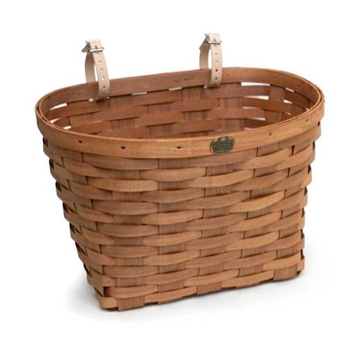 Peterboro Basket Co. Peterboro Bike Baskets Original Regular  - Honey