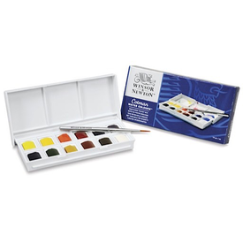 OrangeArt Winsor & Newton Watercolor Pocketbox
