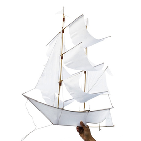 Haptic Lab Inc. Haptic Lab Sailing Ship Kite - White