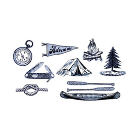 Tattly Tattly Tattoo Set - Camping