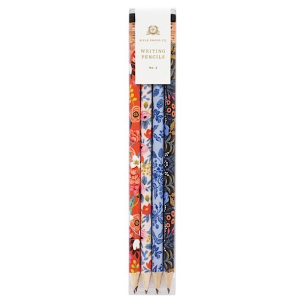 Rifle Paper Rifle Paper Co. Writing Pencils - Flora