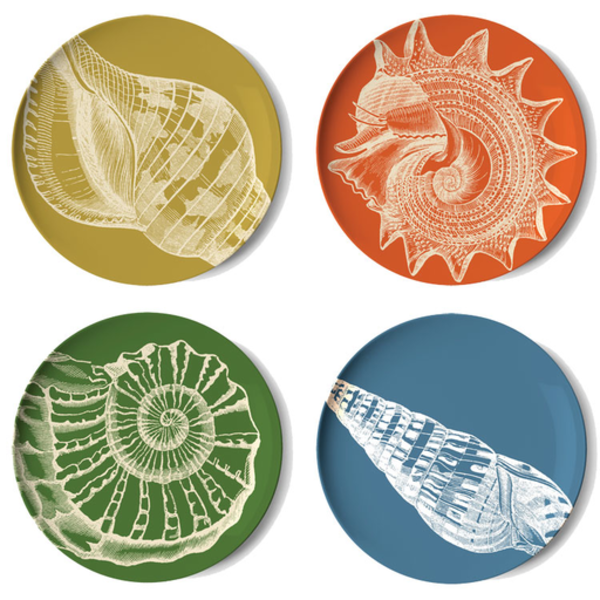 Thomas Paul Thomas Paul Sea Life Coaster Dishes - Set of 4