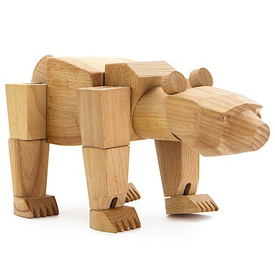 Areaware Ursa Minor Wooden Bear