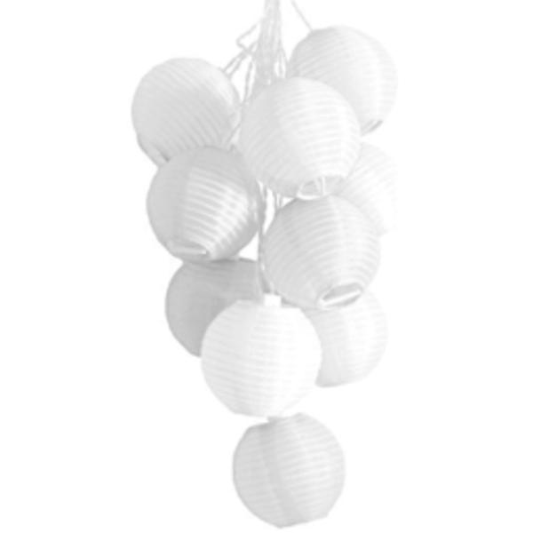 Allsop Home & Garden Soji Solar String-Lights - White