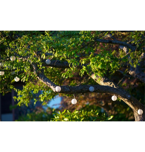 Soji Solar String-Lights - White