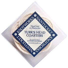 Nantucket Knotworks Turk's Head Coaster Set