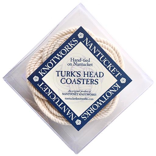 Turk's Head Coaster Set