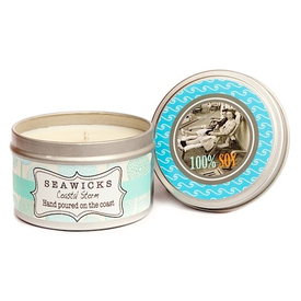 Seawicks Seawicks Tin Candle - Coastal Storm