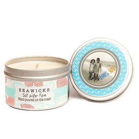 Seawicks Seawicks Tin Candle - Salt Water Farm