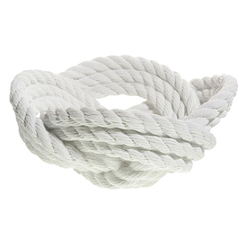 Areaware Rope Knot Bowl by Harry Allen - White