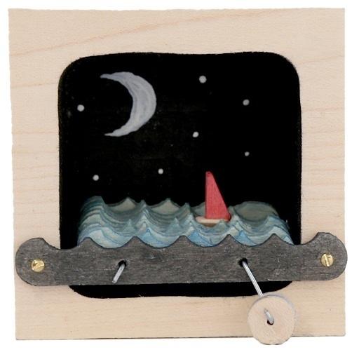 Make Waves Kinetic Wave Making Sculpture - Stars