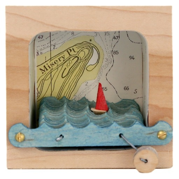 Make Waves Kinetic Wave Making Sculpture - Maps