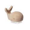 Whale Nail Brush - Wooden