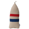 Maine Lobster Buoy Pillow - Blue and Red