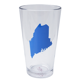Vital Industries Maine State Pint Glass - Bluebird