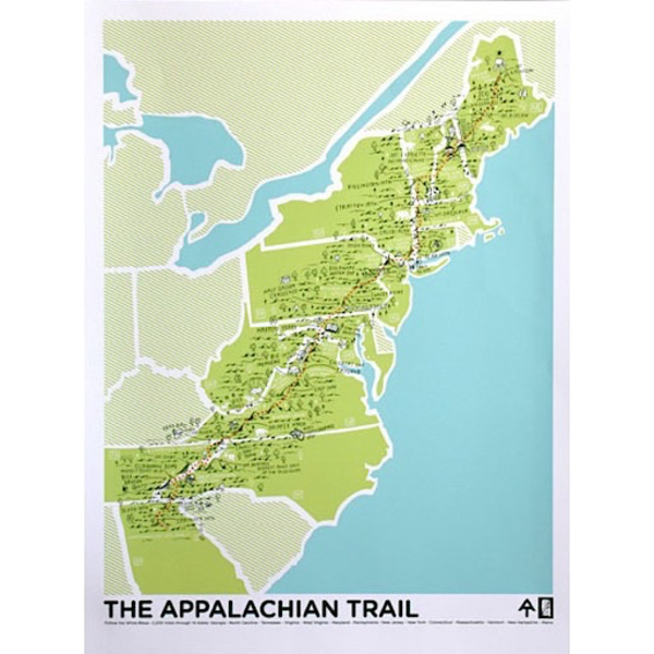 We Are Brainstorm Appalachian Trail Poster - 18x24