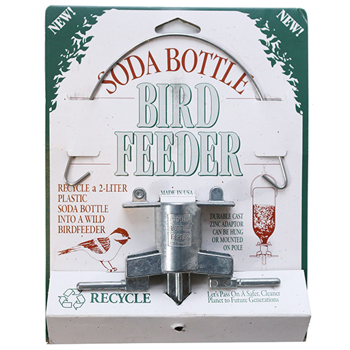 American Bird Products Inc. Soda Bottle Bird Feeder