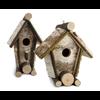 Rustic Bird House - Short A Frame