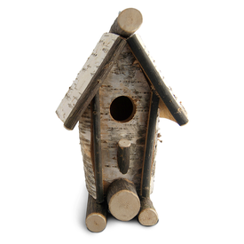 Maine Line Products Rustic Bird House - Tall A Frame