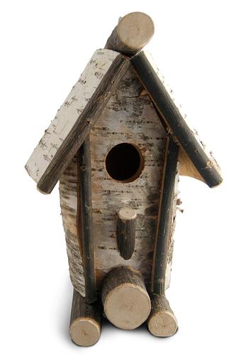 Rustic Bird House - Tall A Frame