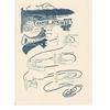 Saturn Press Canoe Strokes Card