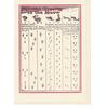 Saturn Press Animal Tracks Card