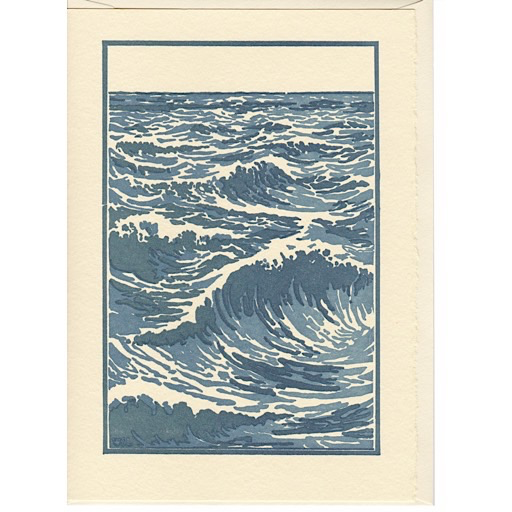 Saturn Press Saturn Press The Sea Card