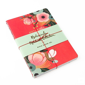 Chronicle Rifle Paper Co. Botanicals Notebook Collection