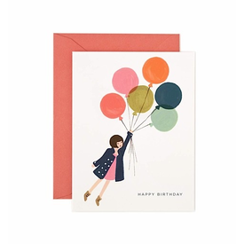 Rifle Paper Rifle Paper Co. Card - Fly Away Birthday