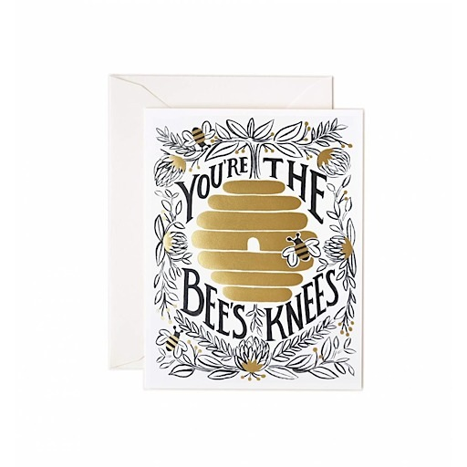 Rifle Paper Co. Rifle Paper Co. Card - You're the Bee's Knees