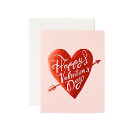 Rifle Paper Co. Rifle Paper Co. Card - Happy Valentines Day Heart