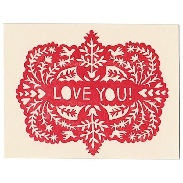 Morris & Essex Morris & Essex I Love You Card