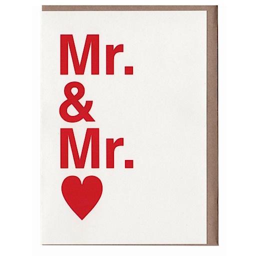 Sad Shop Sad Shop - Mr. & Mr. Card