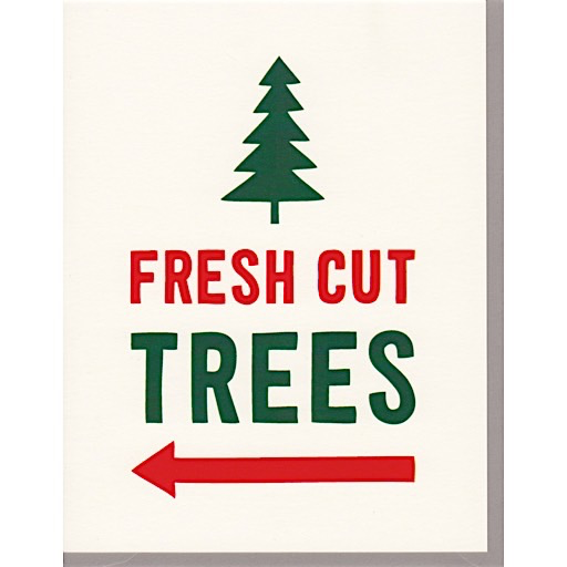 Scouts Honor Scout's Honor Co. Card - Fresh Cut Trees
