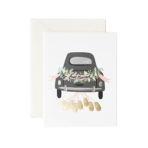 Rifle Paper Co. Rifle Paper Co. Card - Just Married Getaway