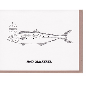 N'East Paper N'East Paper Card - Holy Mackerel